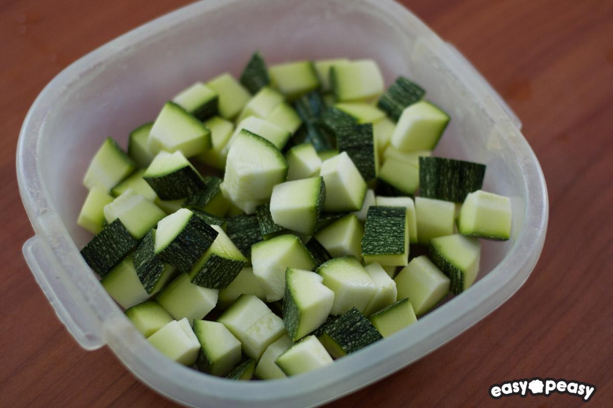 Risotto zucchine e primosale