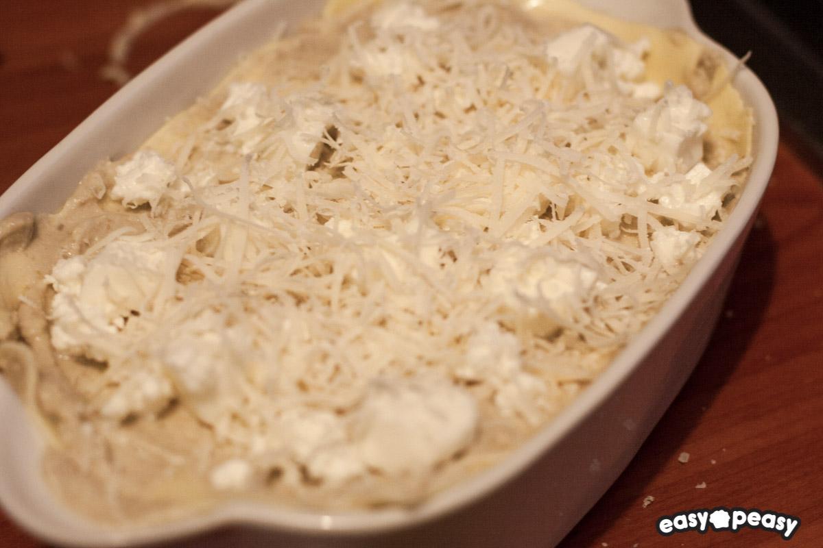 Lasagna melanzana e formaggi
