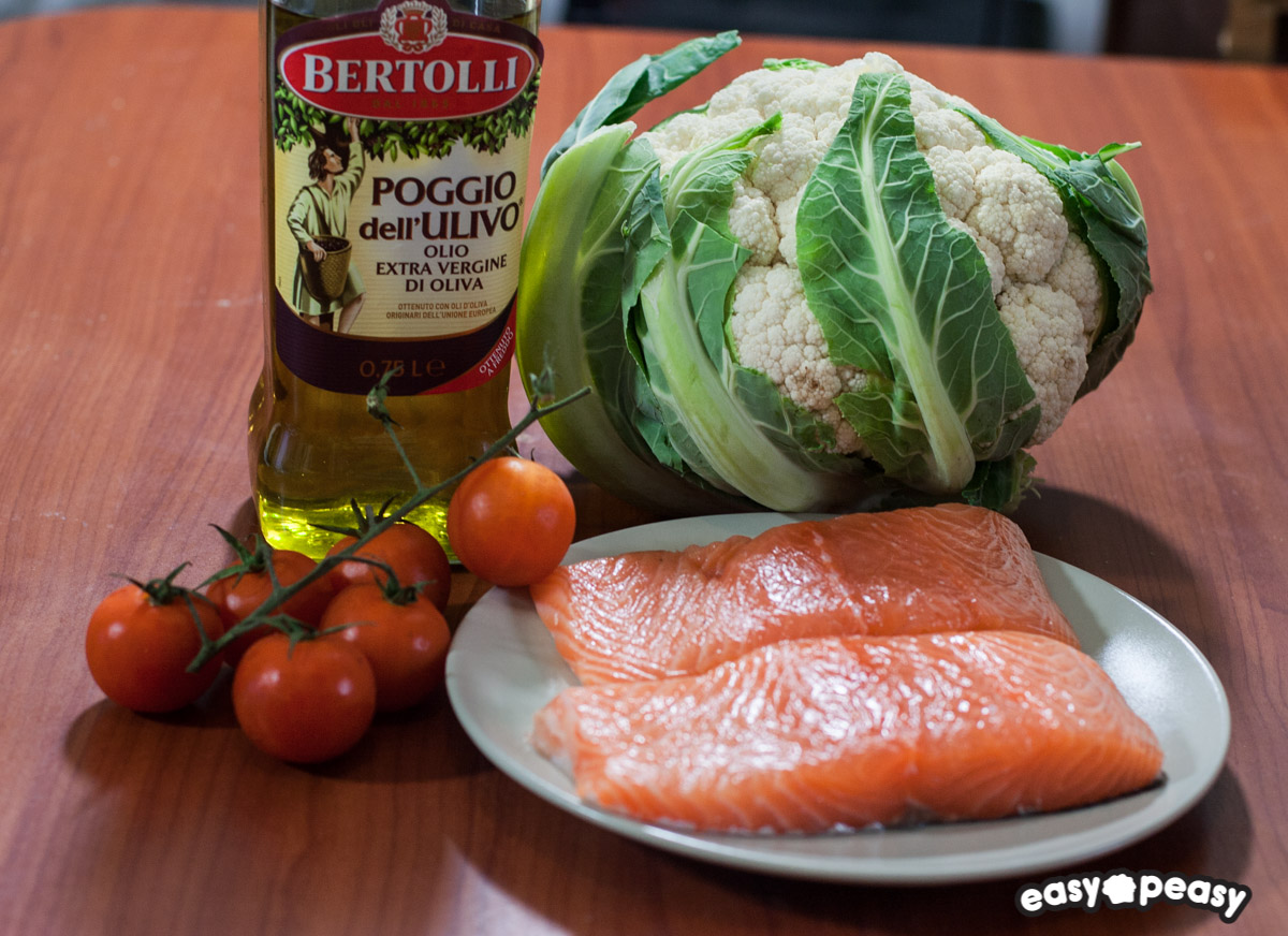 Salmone e cavolo
