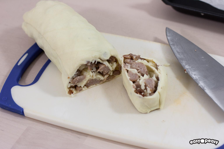 Rotolini alla salsiccia