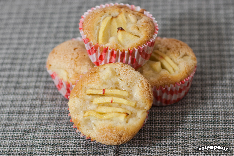 Muffin mele vegani