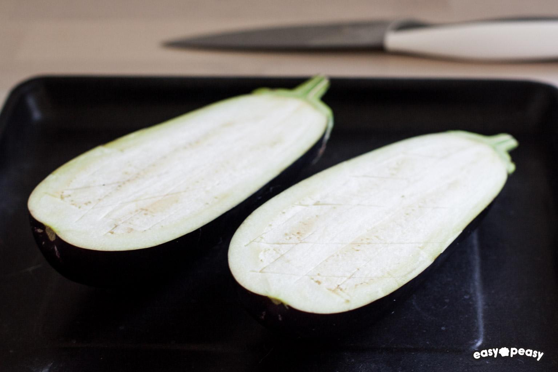 Pasta melanzane zucchine