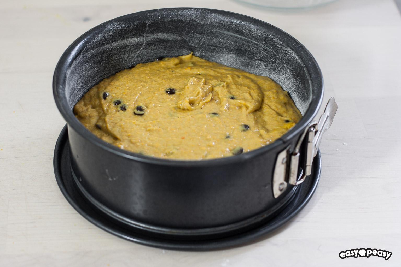 Torta zucca e castagne