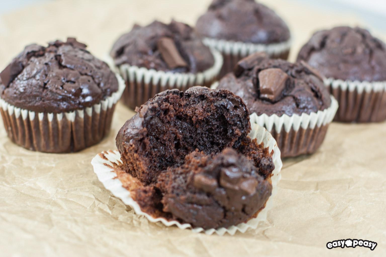 Muffin ciocco-banana